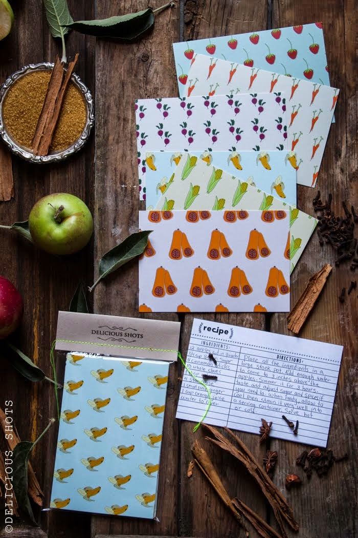 {NEW} recipe cards