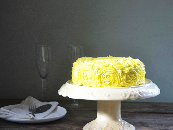 Zucchini Cake with Lemon Buttercream and Six Years Ago Today