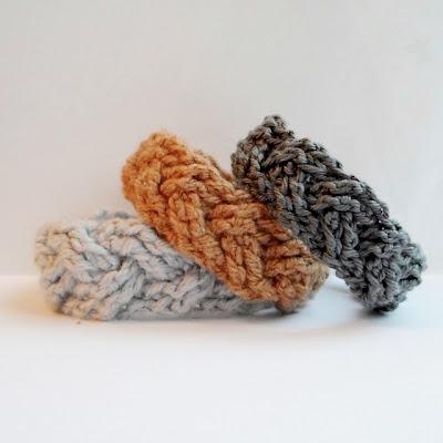 crochet cable bracelets free pattern