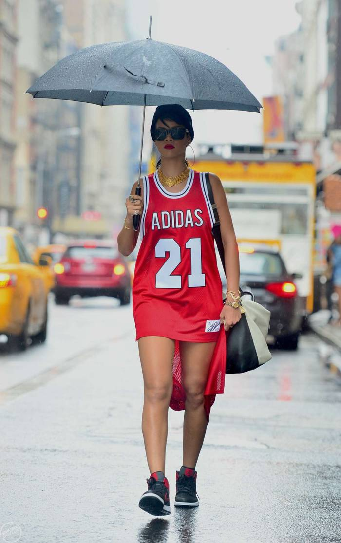Rihanna Out and About in NYC