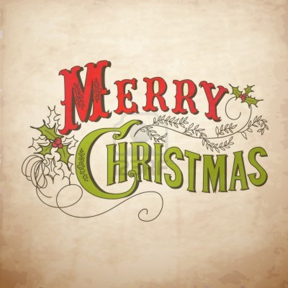 Adorable image regarding merry christmas printable
