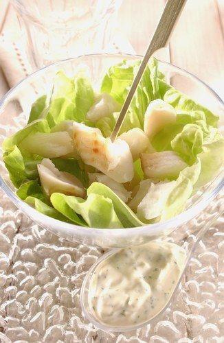 Recettes cuisine pour les nuls salade de cabillaud au yaourt plat rapide et facile recette - Recette de cuisine pour les nuls ...