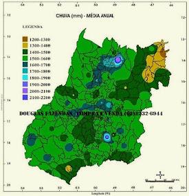 Pluviometria - Goiás