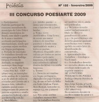 DIVULGANDO O CONCURSO!