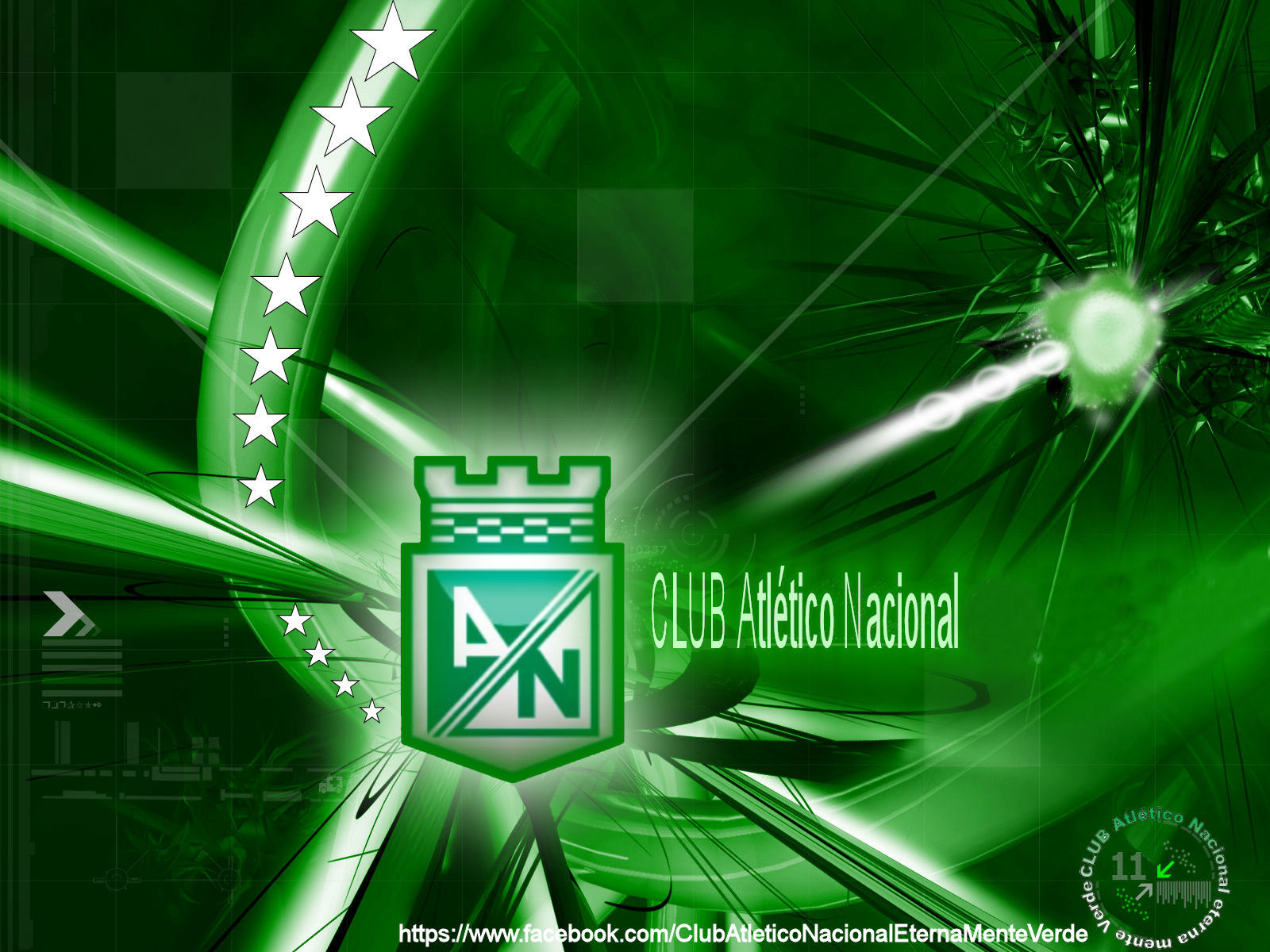 el club atletico nacional s a 1 mas conocido como atletico nacional es