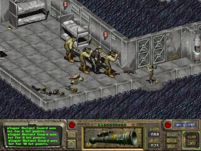 Fallout 1 PC Games Screenshots
