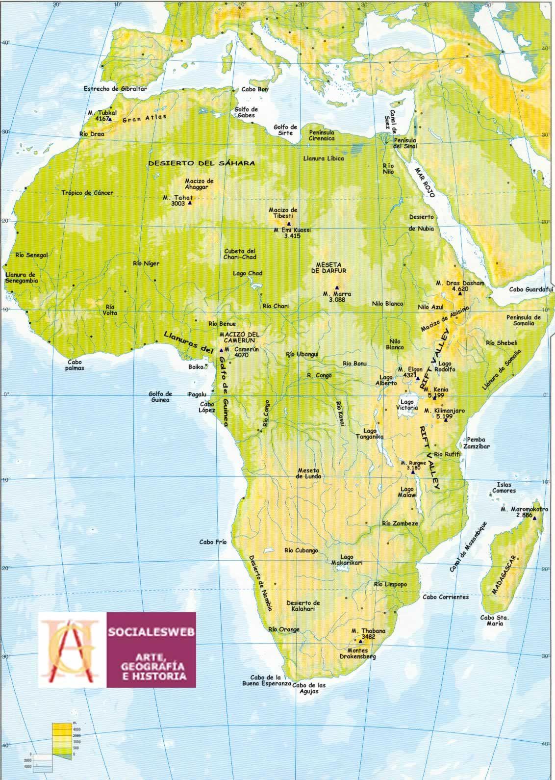 56staamalia: RELIEVE, RÍOS Y LAGOS DE ÁFRICA