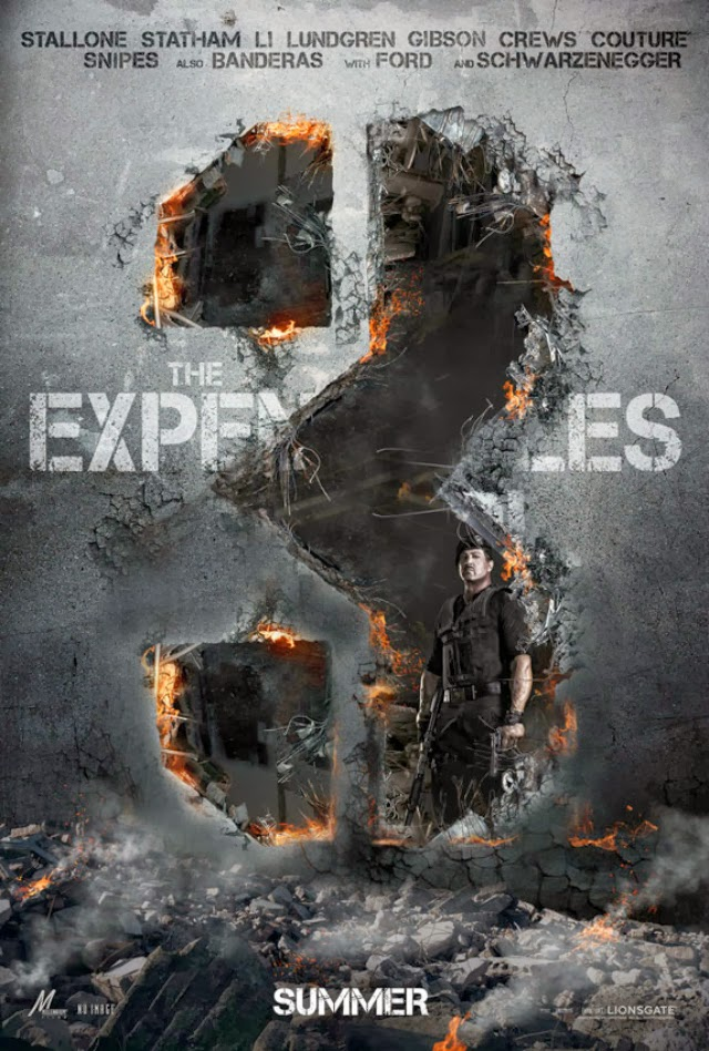 La película The Expendables 3