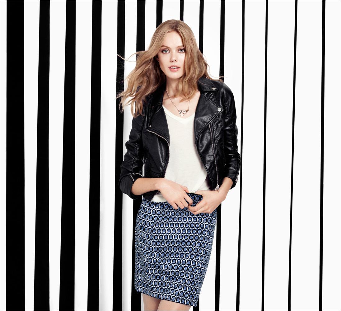 H&m Graphic Stripes Spring