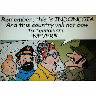 kami tidak takut teroris