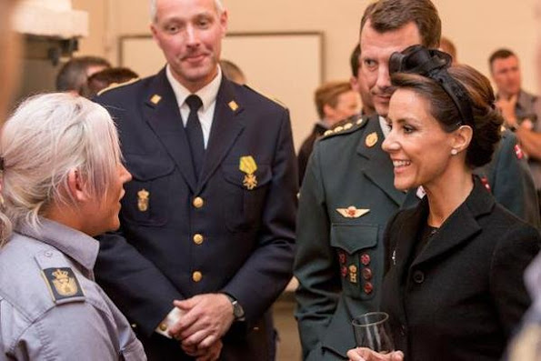 Prince Joachim of Denmark and Princess Marie of Denmark participates in Wreath-laying ceremony