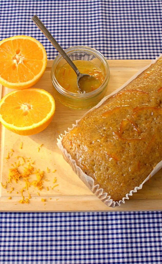 Orange and olive oil quick bread or loaf cake recipe. Super simple and easy