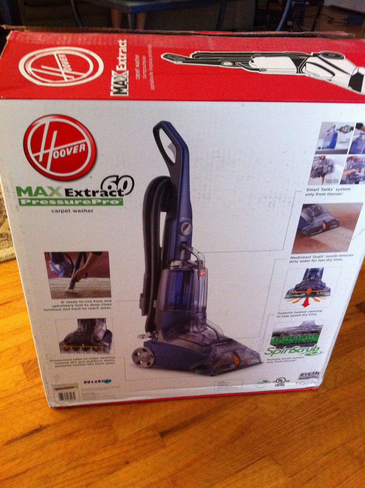 The Funky Monkey Hoover Max Extract 60 Pressure Pro Carpet Deep