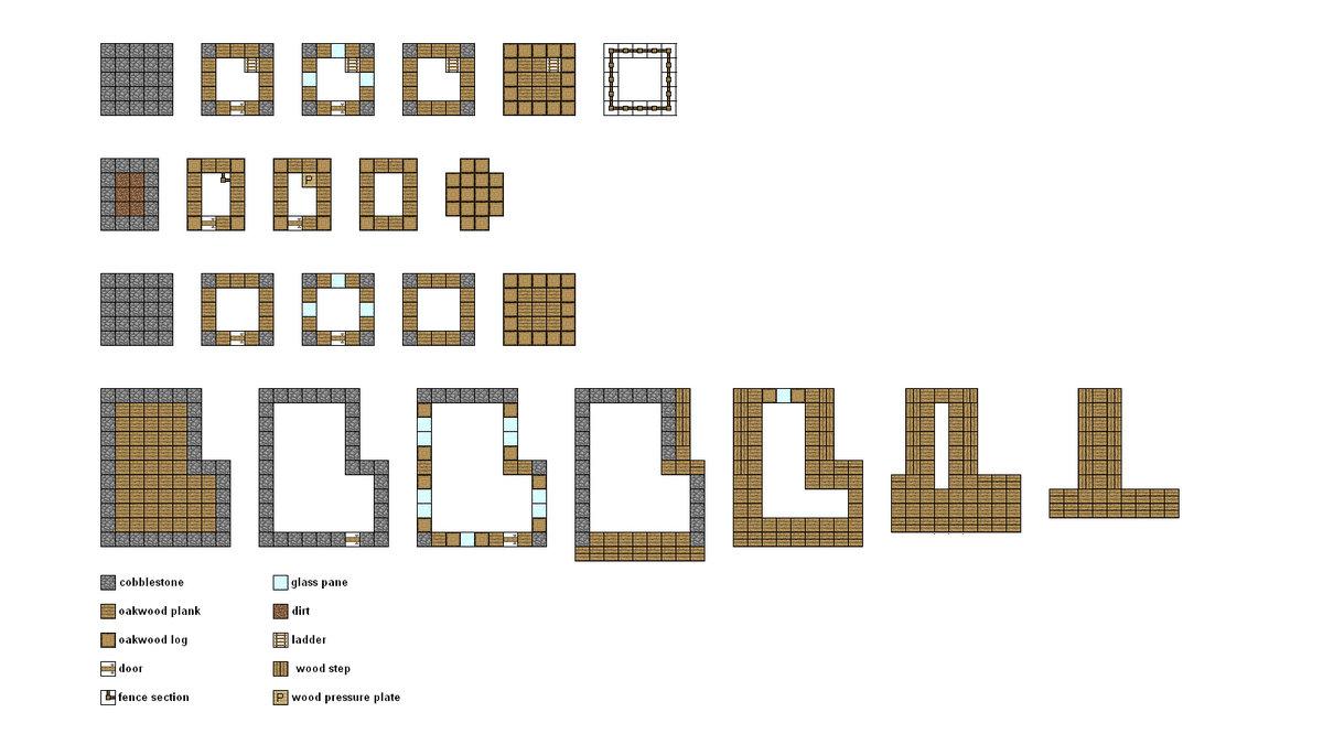 Splash Boom: Minecraft: Planos de casas