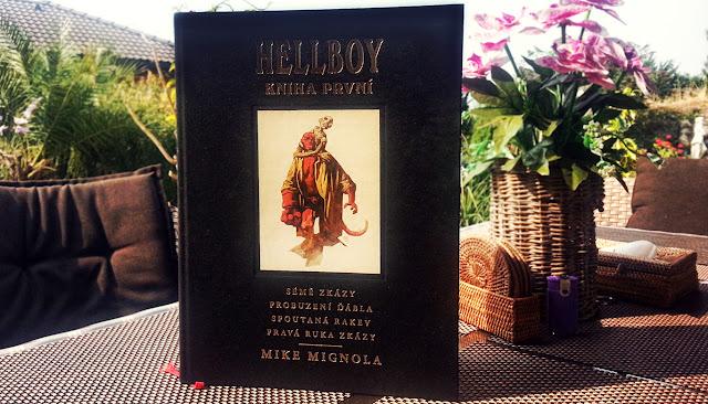 Hellboy pekelná knižnice krása