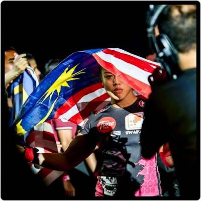 Ann Athena Osman MMA Malaysia women in sport