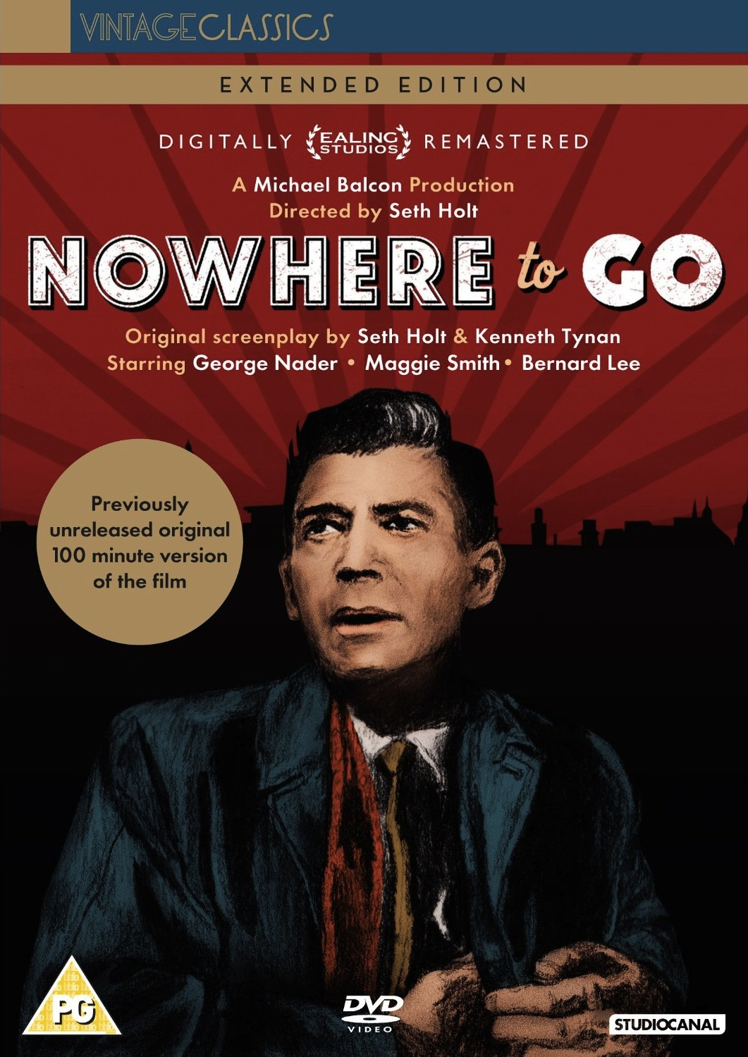 ... BRITISH CULT CLASSICS: Nowhere to Go - Extended Edition / DVD Review