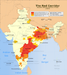 Red Corridor of India