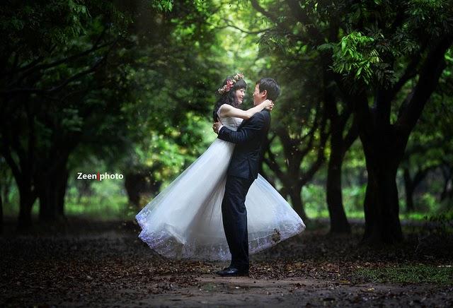 Địa điểm chụp ảnh cưới đẹp ở Hà Nội: Vườn nhãn Gia Lâm4