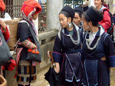 Differences between ethnic groups in Sapa (Vietnam)