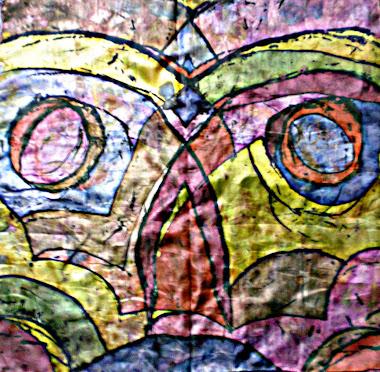 "OWL (22"" X 22"") 25/10/2010"
