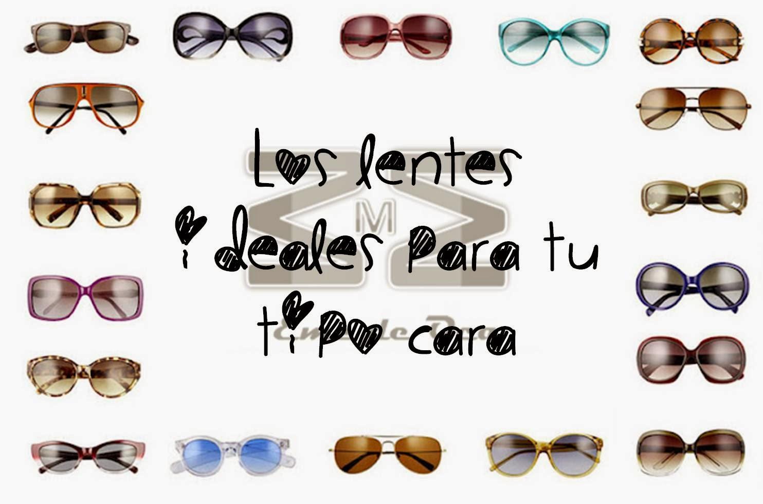Eme de Oca: Los lentes ideales para tu tipo de cara