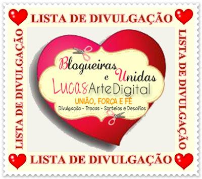 BLOGUEIRAS UNIDAS E LUCAS ARTES DIGITAL