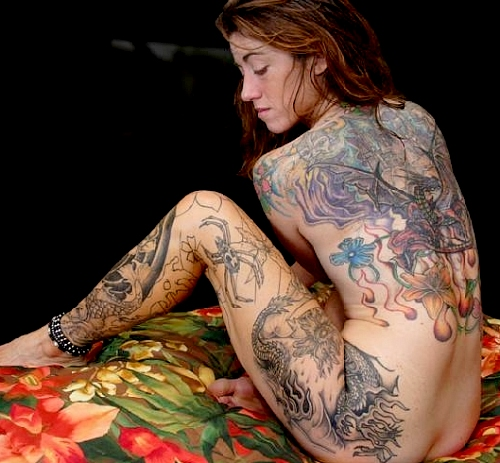 female body tattoos. Body Tats - Full Body Tattooed