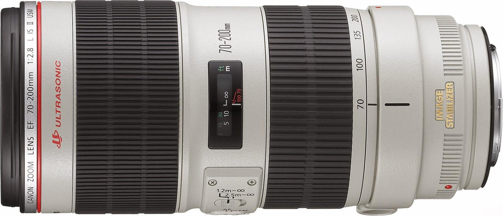 Spesifikasi dan Harga Lensa Canon EF 70-200mm f/2.8L USM Terbaru
