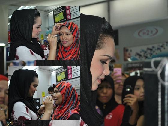 Sekitar Sesi Makeup SimplySiti Bersama Datuk Siti Nurhaliza