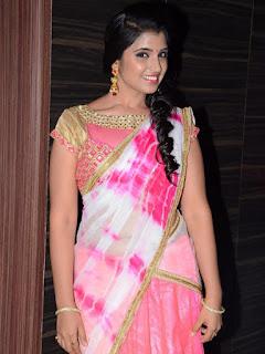Anchor Syamala New Photos at Jyothi Lakshmi Audio Launch Event