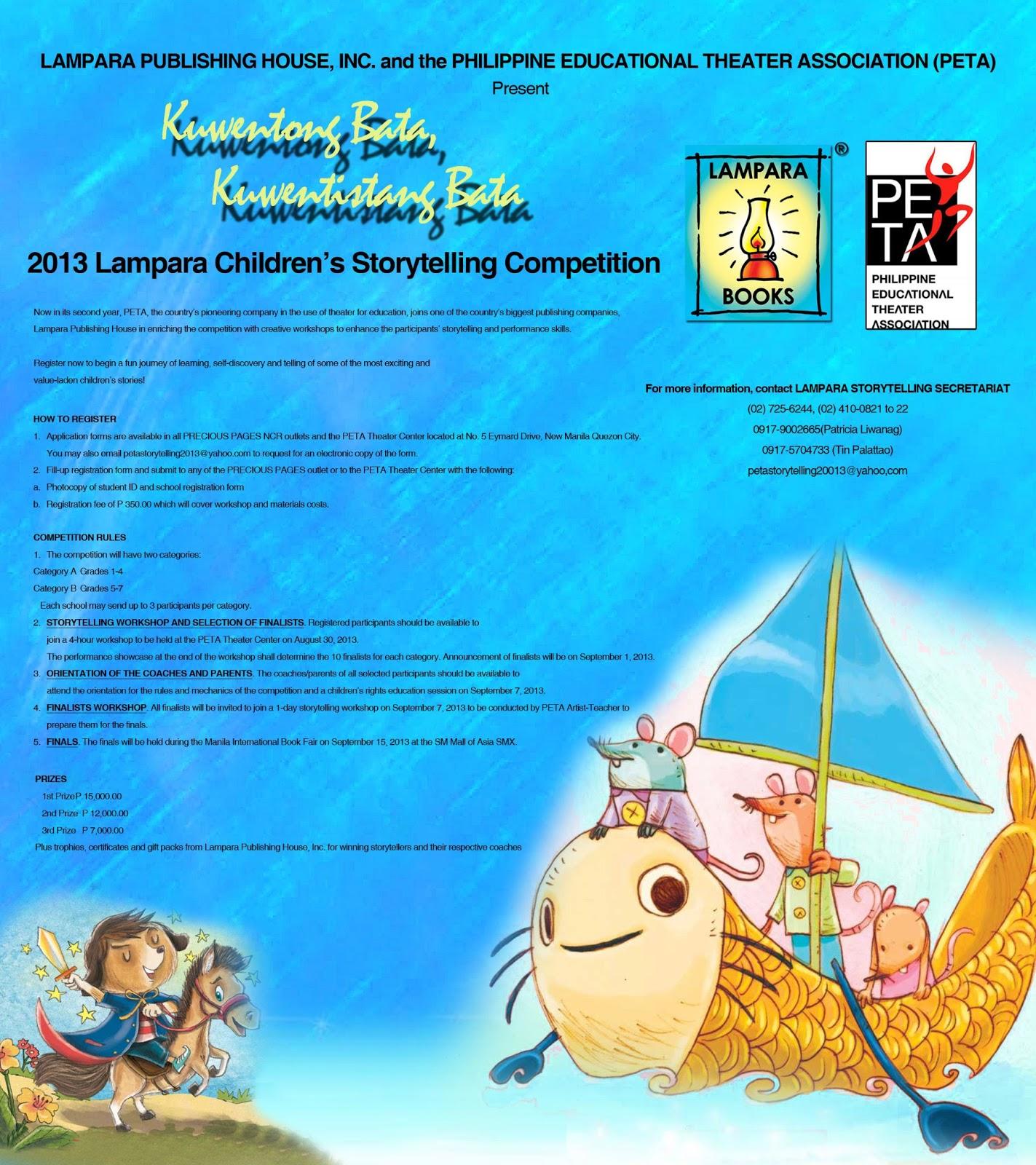 essay contest philippines 2013