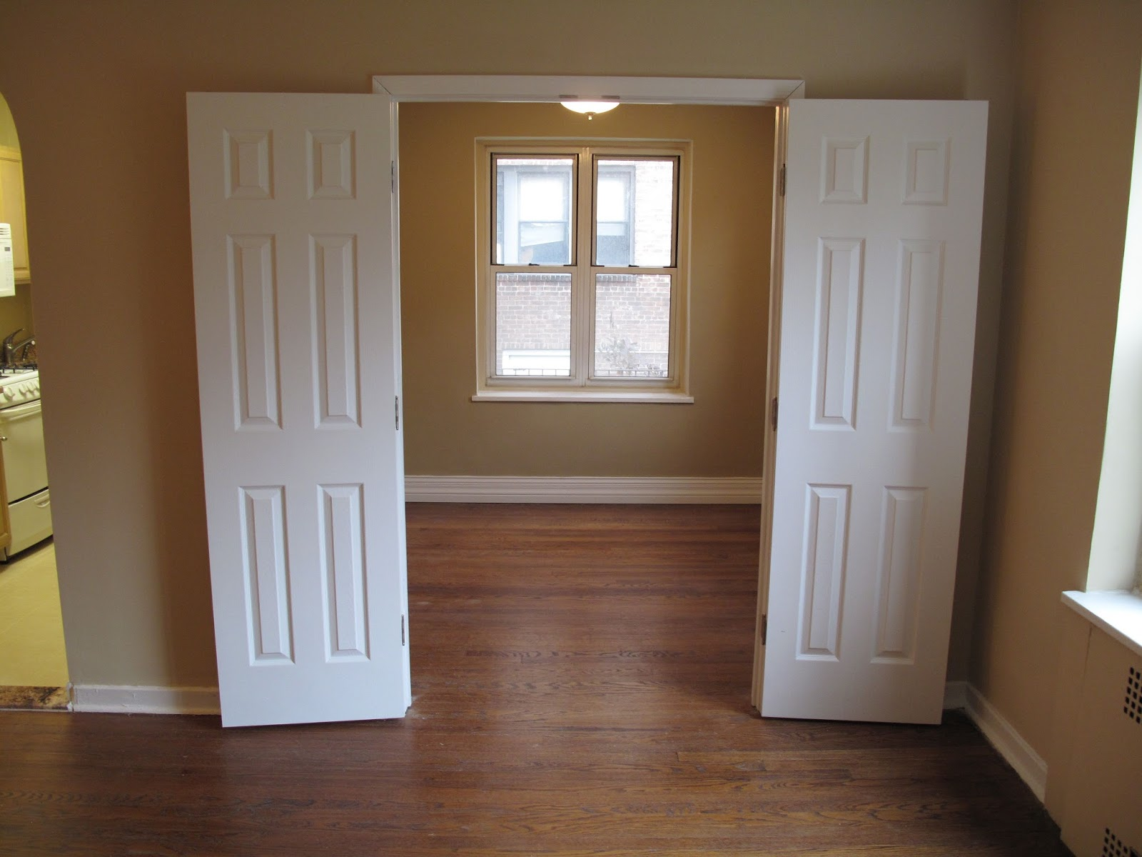 The Little House In The City Apartment Renovation Barn Door Solution