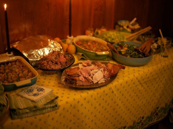 Menú Acción de Gracias