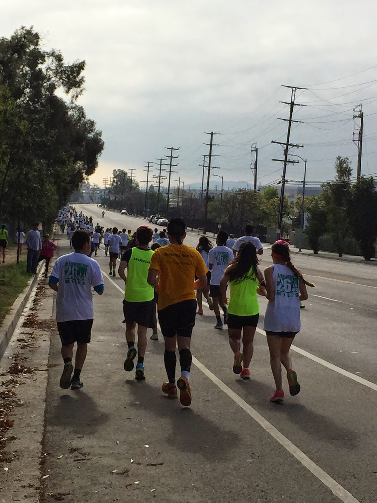 Students run la srla getting back on your feet with 18 miles to go out of the five years that i have participated in srla i only ran the 18 miler twice the other three races i twisted my ankle and couldnt run and thecheapjerseys Images