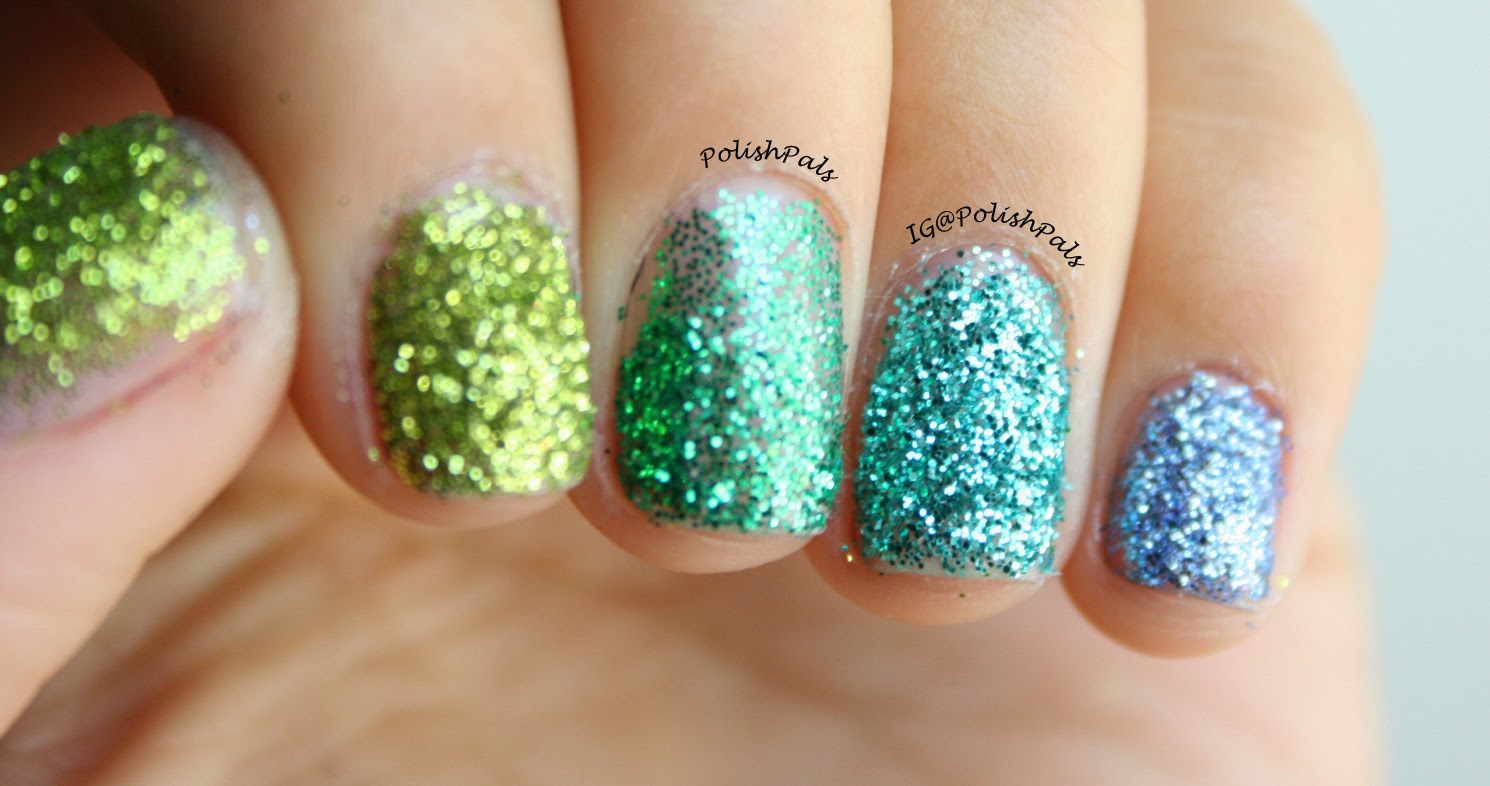 How To Ly Loose Glitter Your Nail Polish Video