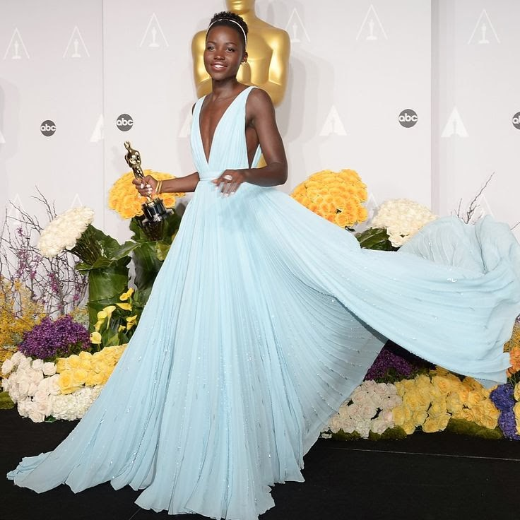 Lupita Nyong'o 2014 Oscars Dress
