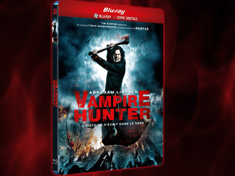 Abraham Lincoln vampire hunte bluray