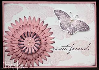 Sweet Friend Birthday Card
