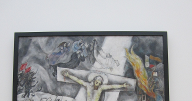 Call Me Jorge...: update on the White Crucifixion Chagall White Crucifixion Pope Francis