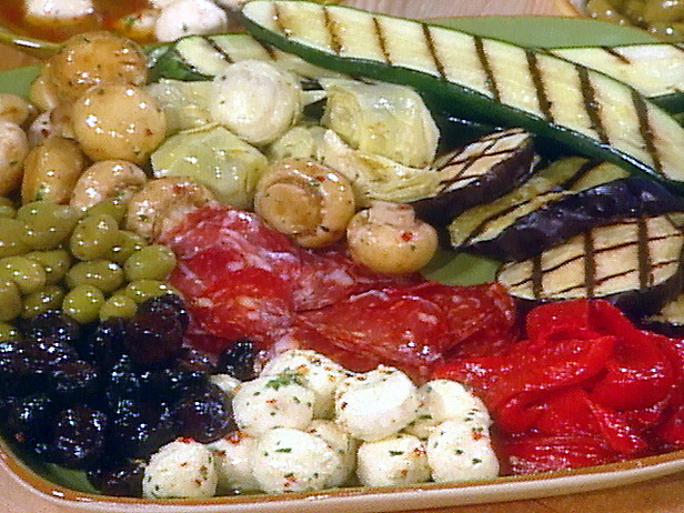 Good muse vegetable antipasto Ina garten appetizer platter