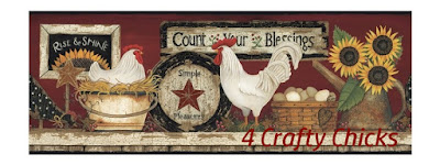 4 Crafty Chicks Challenge Blog