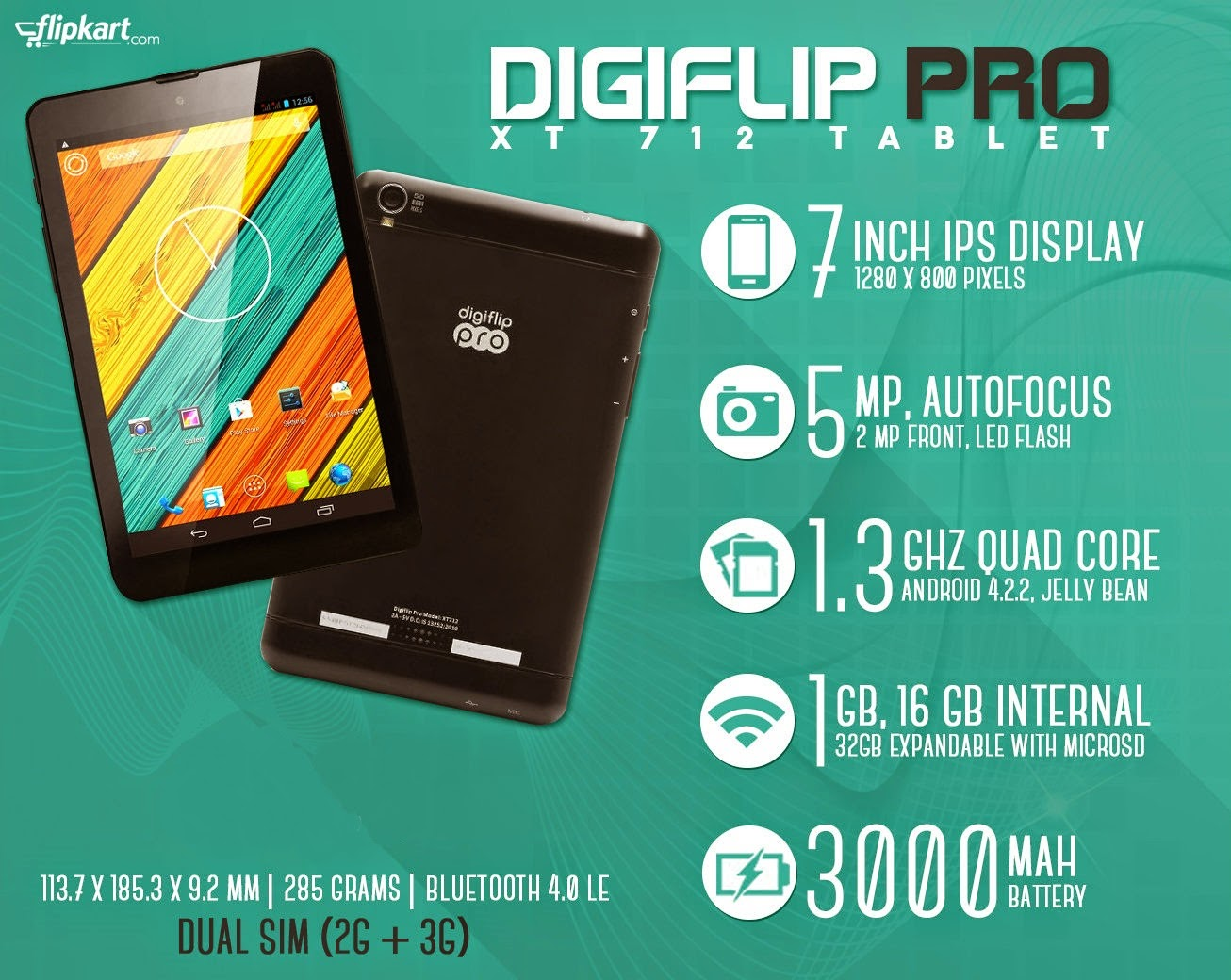 Latest Value For Money Tablet Digiflip Pro Xt811 Online Shopping Hp Slate 7 Voicetab 16 Gb 3g Silver Price