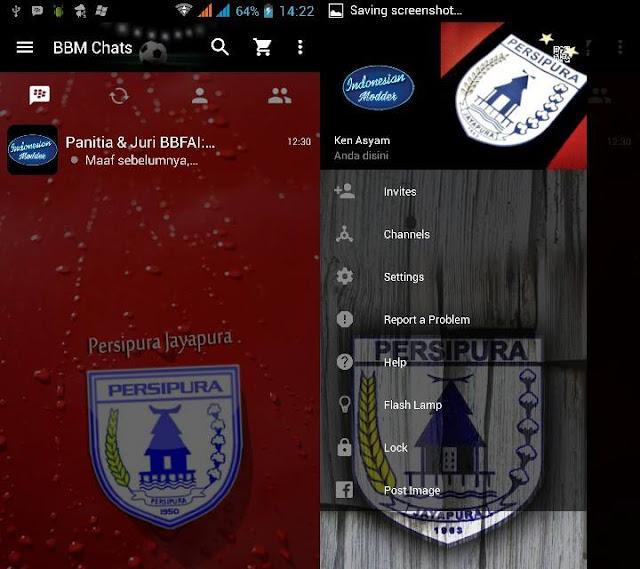 Preview BBM Persipura