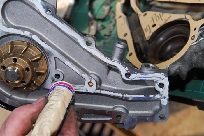 Changement D Une Pompe 224 Eau De Moteur M 233 Canicien Tout