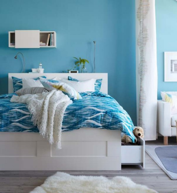 Ideas Para Guardar Zapatos Ikea ~ Smooth ikea furniture design ideas in bright and azure color includes