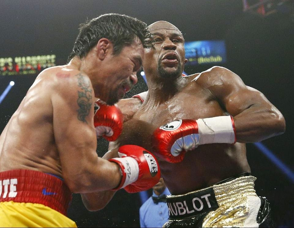 Floyd Mayweather Jr. Defeats Manny Pacquiao in Boxing's Big Matchup