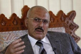 الكشف على سبب مغادرة صالح من العاصمة صنعاء