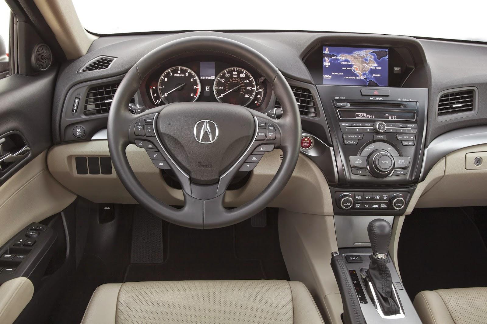 Interior view of 2015 Acura ILX 2.0L Tech