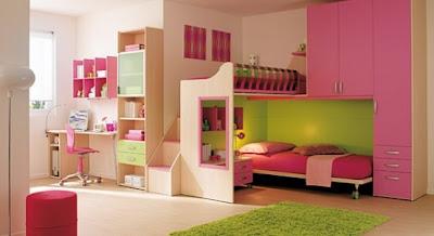 Habitación de Melissa Quartos-menina-pink2